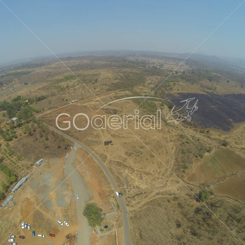 Aerial view of land at GOA by GO Aerial Drone Photography